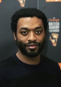 Chiwetel Ejiofor at the Orange British Academy Film Awards.