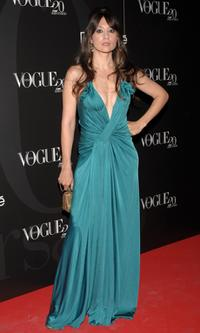 Maria Botto at the Vogue Magazine 20th anniversary party.