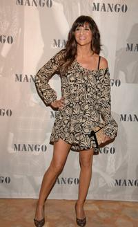 Maria Botto at the Mango party.