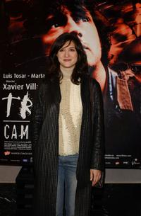 Maria Botto at the premiere of