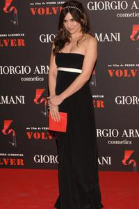 Maria Botto at the Spanish premiere of