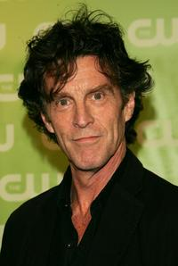 John Glover at the CW Network Upfront at Madison Square Garden.