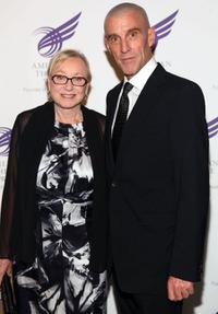 Jane Greenwood and John Glover at the 2009 Tony Awards Meet the Nominees press reception.