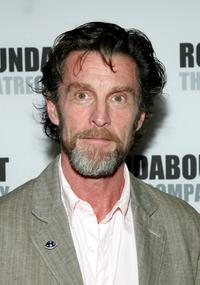 John Glover at the opening of