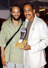 Savion Glover and Gregory Hines at the New York City Tap Festival Gala Benefit.