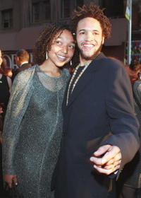 Savion Glover and Guest at the 50th Annual Tony Awards.