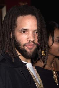 Savion Glover at the New York premiere of