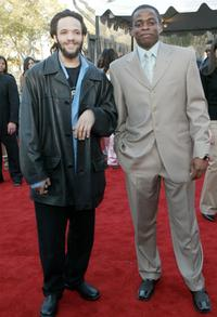 Savion Glover and Dule Hill at the 16th Annual Soul Train Music Awards.