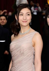 Ryoko Hirosue at the 81st Annual Academy Awards.