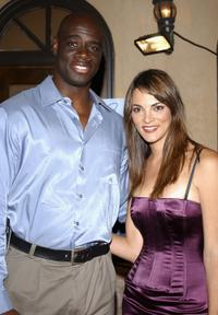 Isaac C. Singleton, Jr. and Carolina Bacardi at the