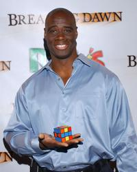 Isaac C. Singleton, Jr. at the premiere of