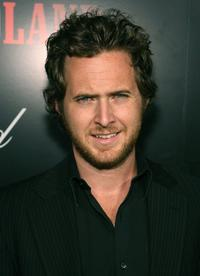 A.J. Buckley at the premeire of