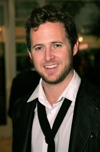 A.J. Buckley at the Mercedes-Benz Oscar viewing party.