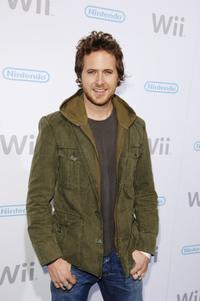 AJ Buckley at the launch party for the Nintendo