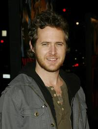 A.J. Buckley at the world premiere of