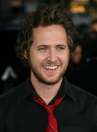 A.J. Buckley at the premiere of