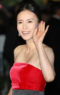 Miki Nakatani at the 22nd Tokyo International Film Festival Opening Ceremony.