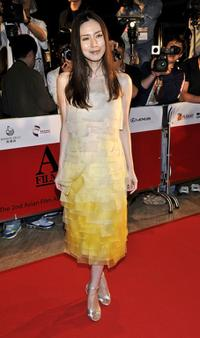 Miki Nakatani at the Asian Film Awards 2008.