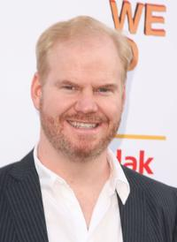 Jim Gaffigan at the special New York screening of