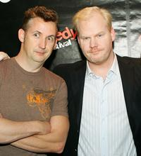 Harland Williams and Jim Gaffigan at the HBO's The Comedy Festival.