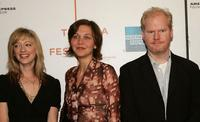 Judy Greer, Maggie Gyllenhaal and Jim Gaffigan at the screening of