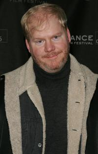 Jim Gaffigan at the premiere of