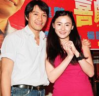 Stephen Chiau Sing Chi and Cecilia Cheung at the press conference to promote