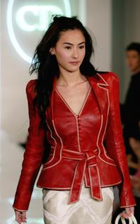 Cecilia Cheung at the launch show of Christian Dior spring and summer new series.