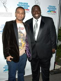 Aaron McGruder and Gary Anthony Williams at the ATAS Foundation's 28th Annual College Television Awards.
