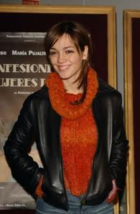 Paz Gomez at the premiere of