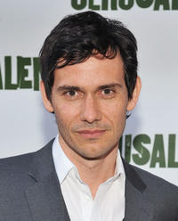 Christian Camargo at the Broadway opening night of