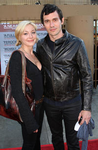 Christian Camargo and Guest at the California premiere of