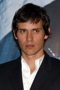 Christian Camargo at the news conference of