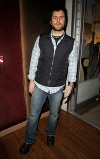James Roday at the Conde Nast Traveler Hot List party.