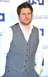 James Roday at the 2011 USA Upfront in New York.
