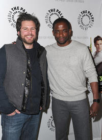 James Roday and Dule Hill at the Paley Center for Media Presents