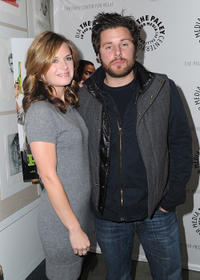 Maggie Lawson and James Roday at the Paley Center for Media Presents