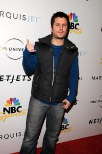 James Roday at the NBC Universal Pre Super Bowl event.