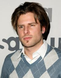 James Roday at the USA Network Upfront.