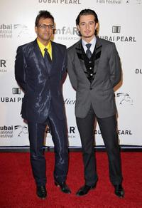 Javed Jaffrey and Ali F. Mostafa at the 3rd Annual amfAR Cinema Against AIDS during the 6th Annual Dubai International Film Festival.