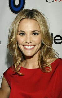Leslie Bibb at the L.A. launch party for