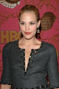 Leslie Bibb at the HBO Post Emmy Party.