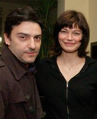 Yvan Attal and Marianne Denicourt at the Rendez-Vous with French Cinema 2003.