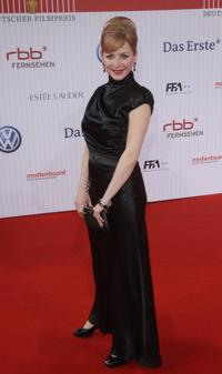 Jasmin Schwiers at the German Film Awards.