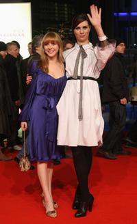 Jasmin Schwiers and Nora Tschirner at the premiere of