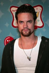 Shane West at the LGs Mobile TV Party.