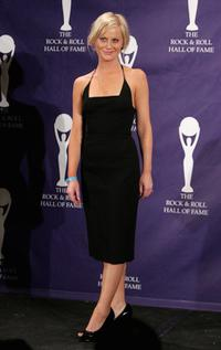 Amy Poehler at the 22nd annual Rock And Roll Hall of Fame Induction Ceremony.