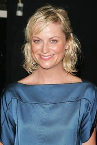 Amy Poehler at the Marc Jacobs fashion show.