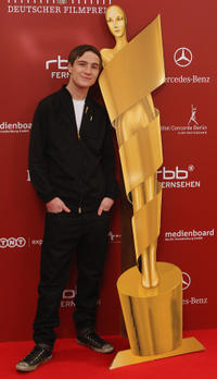 Frederick Lau at the German Film Award Nominees Reception in Berlin.
