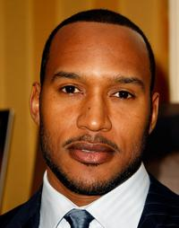Henry Simmons at the Chrysler LLC Sixth Annual Behind the Lens Award.